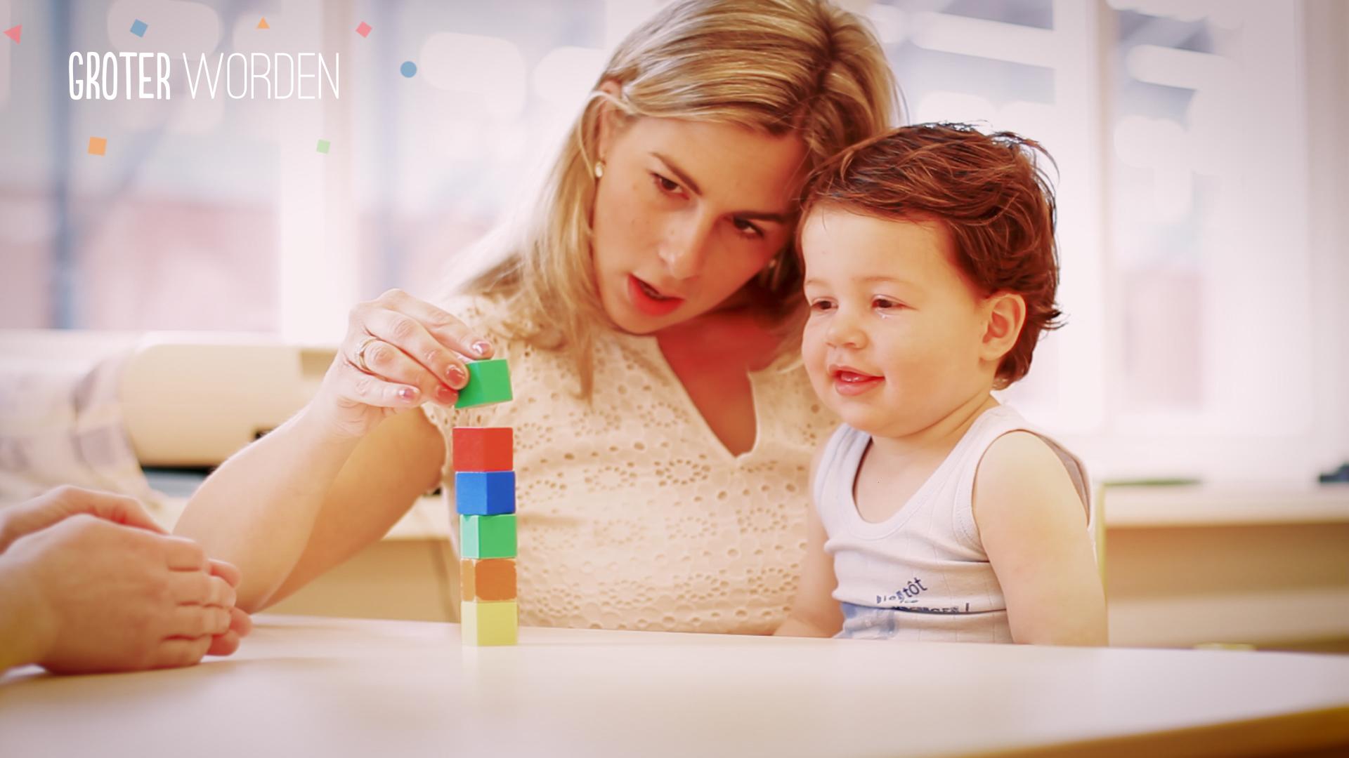 Kinddossier groter worden for Poppenhuis kind 2 jaar